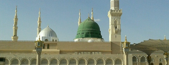 Mescid-i Nebevî is one of Madinah.