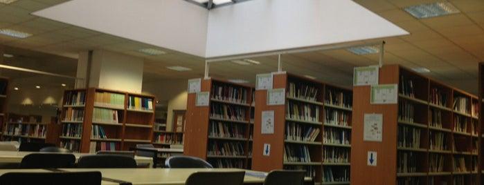 Βιβλιοθήκη ΠΑΜΑΚ is one of Tempat yang Disukai Triantafyllia.