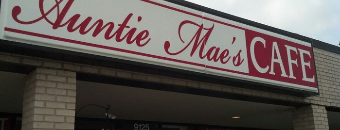 Auntie Mae's Cafe is one of Restaurants I Want To Try.