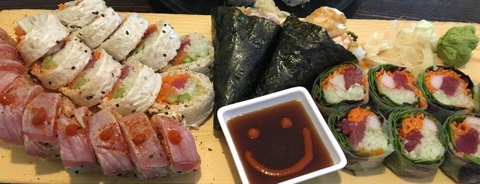 Daiwa Sushi Bar & Japanese Cuisine is one of Tempat yang Disukai Ivan.