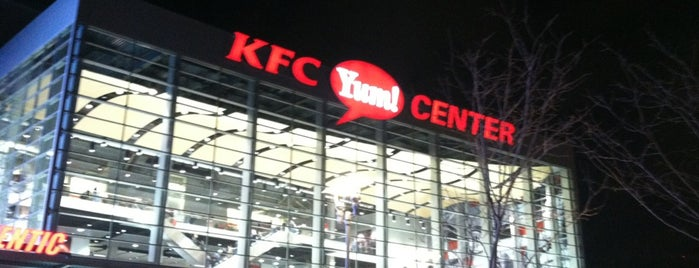 KFC Yum! Center is one of Venues....