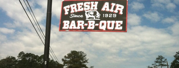 Fresh Air BBQ is one of Georgia.