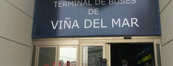 Terminal de Buses Viña del Mar is one of #SantiagoTrip.