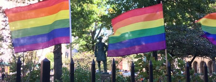 Stonewall National Monument is one of Tempat yang Disukai David.