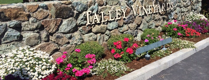 Talley Vineyards is one of SLO County Top Spots.