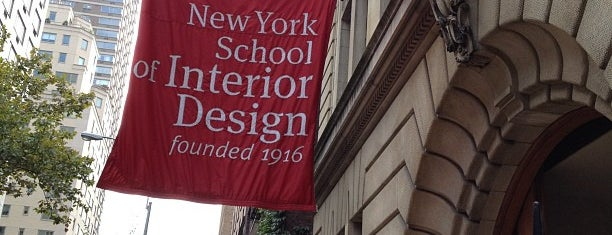 New York School of Interior Design is one of seen onscreen part 2.