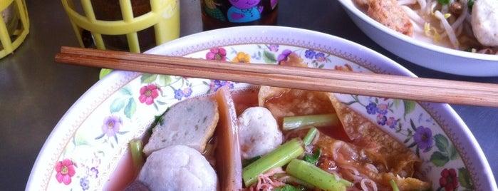 ก๋วยเตี๋ยวลูกชิ้นปลาเย็นตาโฟเยาวราช is one of BKK_Noodle House_1.