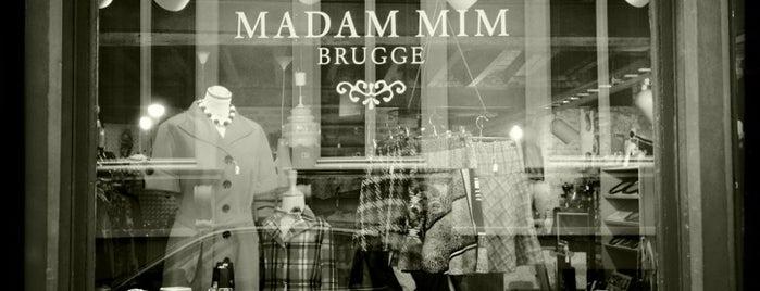 Madam Mim is one of Vintage winkels Brugge.