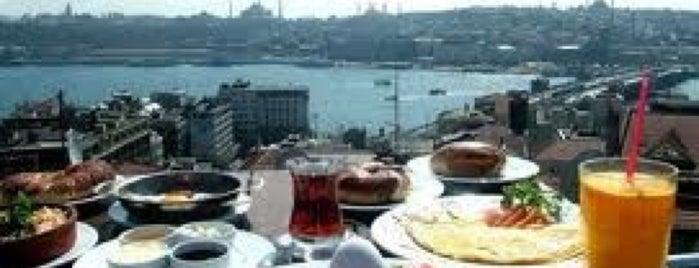 Galata Konak Cafe is one of İstanbul Yeme&İçme Rehberi - 5.