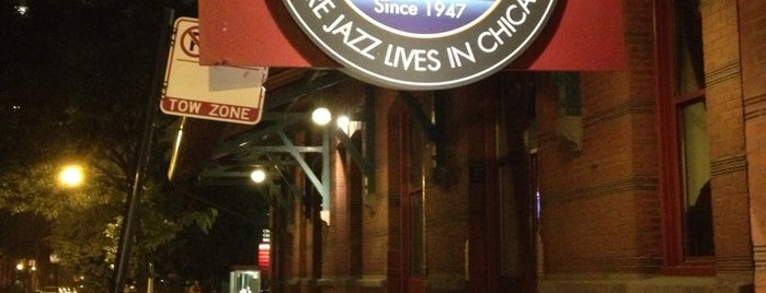 Jazz Showcase is one of Chicago.