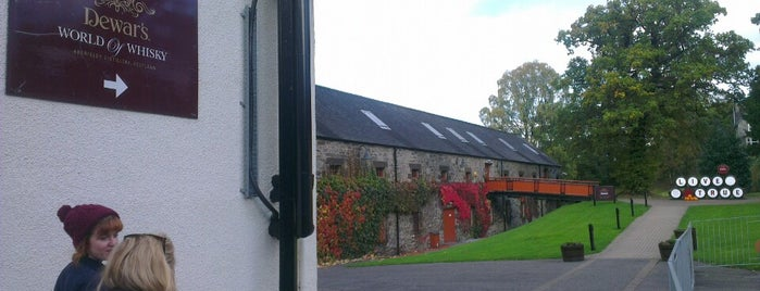 Aberfeldy Distillery is one of Scotland.