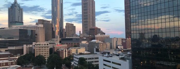 Skylounge Atlanta is one of Happy Hour - ATL.