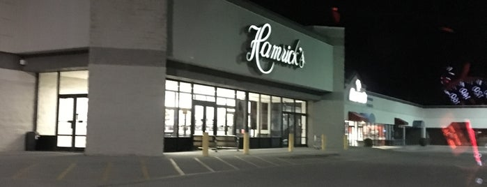 Hamrick's is one of Locais curtidos por Steven David.