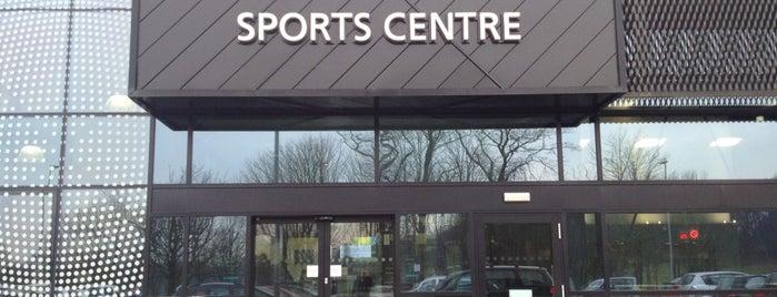Lancaster University Sports Centre is one of Nicolas 님이 저장한 장소.