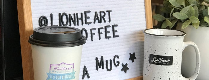 Lionheart Coffee Company is one of สถานที่ที่บันทึกไว้ของ Erik.