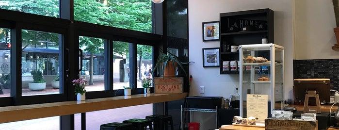 Water Avenue Coffee Company is one of Tempat yang Disukai Susan.