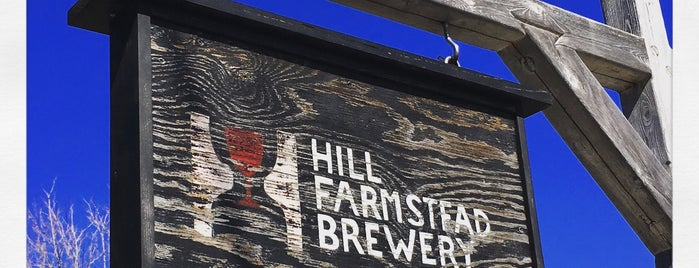 Hill Farmstead Brewery is one of Tempat yang Disukai Al.
