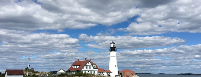 Portland Head Light is one of Tempat yang Disukai Al.