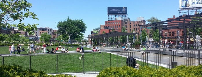 The Rose Kennedy Greenway is one of #BeRevered: Best of the North End.