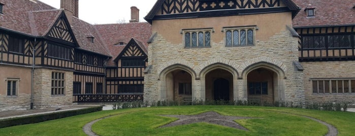 Schloss Cecilienhof is one of Historical Berlin.