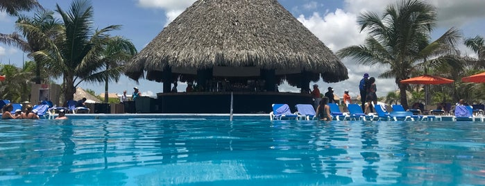 Central Pool is one of Hard Rock Punta Cana, DR.