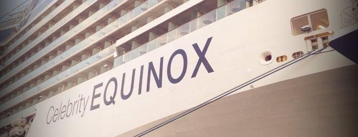 Celebrity Equinox is one of Tempat yang Disukai Doğan.