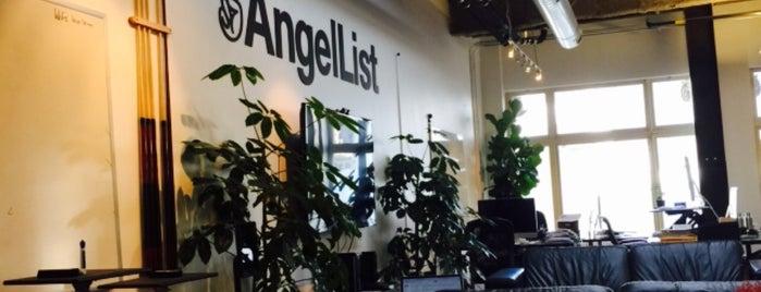 AngelList is one of Tempat yang Disukai Max.