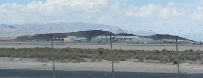 Creech Air Force Base is one of Seth : понравившиеся места.