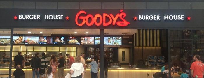 Goody's Burger House is one of Orte, die Athena 🎀 gefallen.