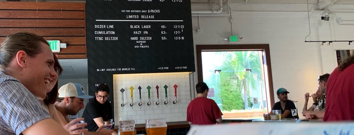Topa Topa Brewing Company is one of SF-CA-SD.