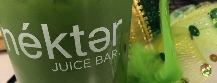 Nekter Juice Bar is one of Posti che sono piaciuti a Mindy.