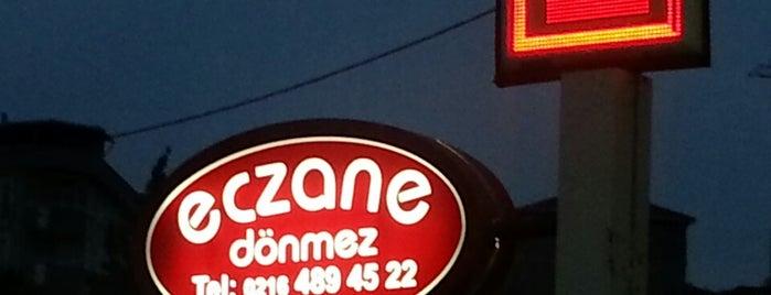 Dönmez Eczanesi is one of Pendik Eczaneleri.