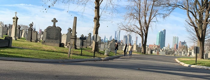 Calvary Cemetery is one of Must-See Sunnyside.