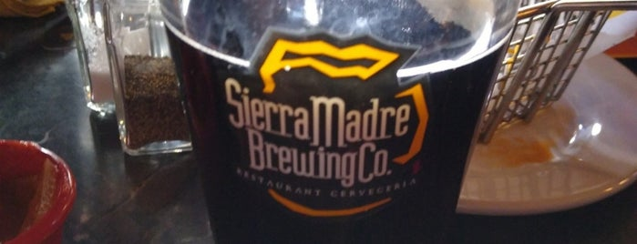 Sierra Madre Brewing Co. is one of Orte, die Leo gefallen.