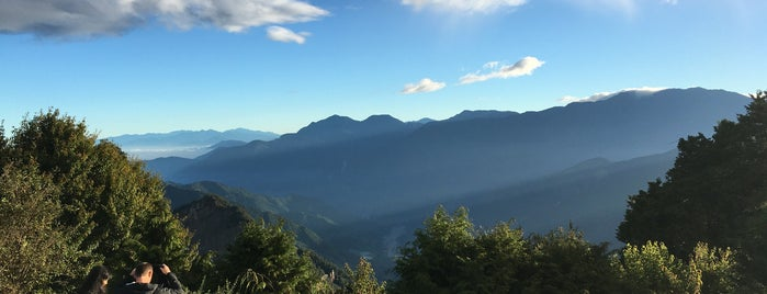 Alishan is one of Taiwan.