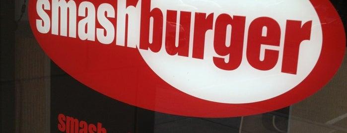 Smashburger is one of สถานที่ที่ Wade ถูกใจ.