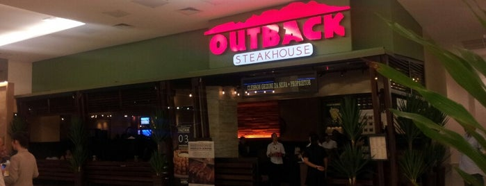 Outback Steakhouse is one of Lugares favoritos de Sanseverini.