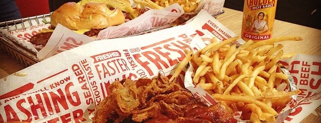 Smashburger is one of Favorite Troughs.
