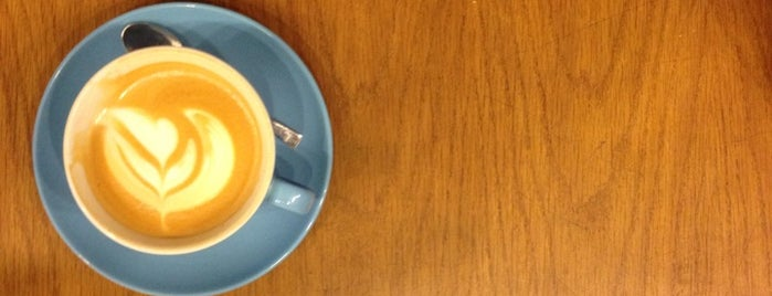 Prufrock Coffee is one of London Food.