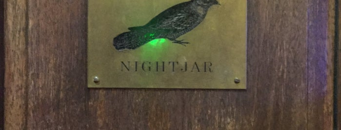 The Nightjar is one of London baby.