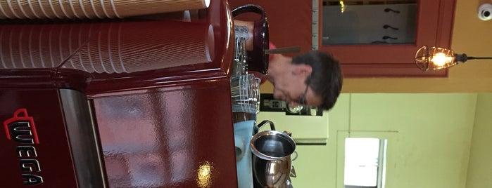 Doktor Luke's Coffee House is one of Bob Pelley's Cape Breton.