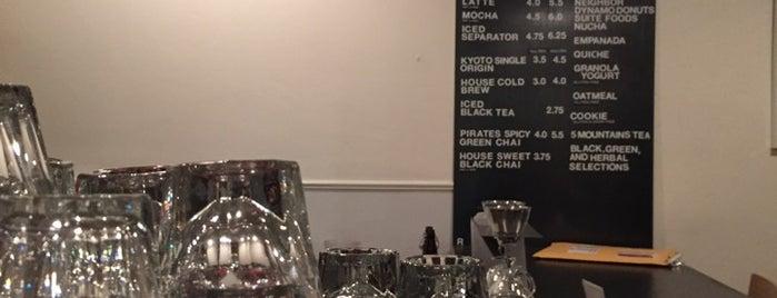 Contraband Coffeebar is one of SF Coffee.