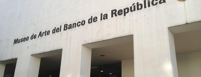 Museo de Arte del Banco de la República is one of Colombia.
