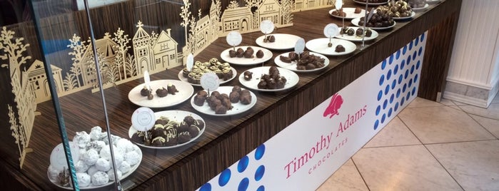 Timothy Adams Chocolates is one of Great Food in Silicon Valley.