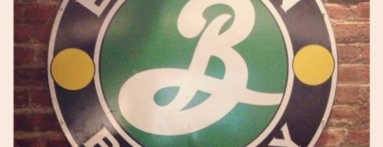 Brooklyn Brewery is one of NY.