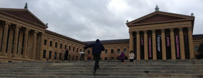 Art Museum Steps is one of 100 Things to Do in Philly.
