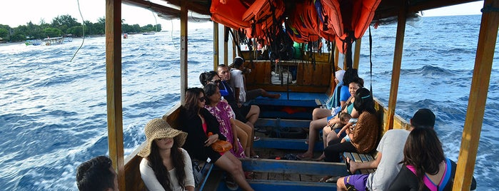 gili trawangan boat is one of Tour to Gili Trawangan, Meno dan Air.