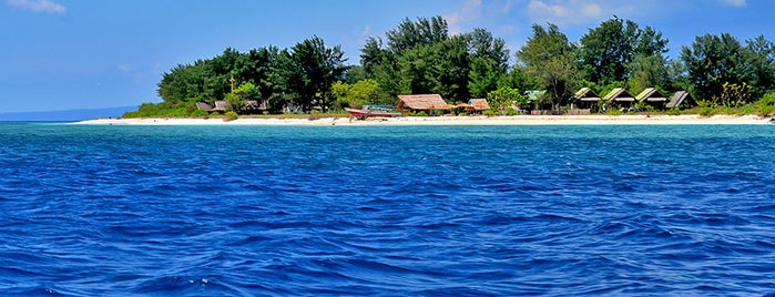 Gili Meno is one of Tour to Gili Trawangan, Meno dan Air.