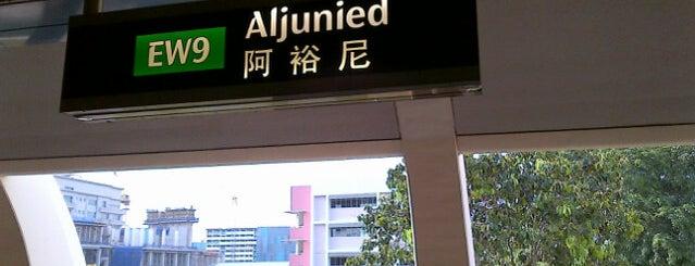 Aljunied MRT Station (EW9) is one of Lugares favoritos de Celal.