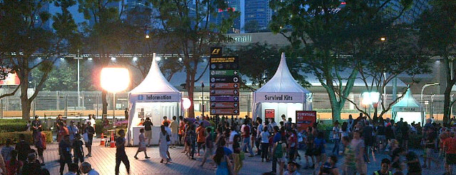 F1 Singapore Grand Prix 2012 is one of Singapore Tour 2012.